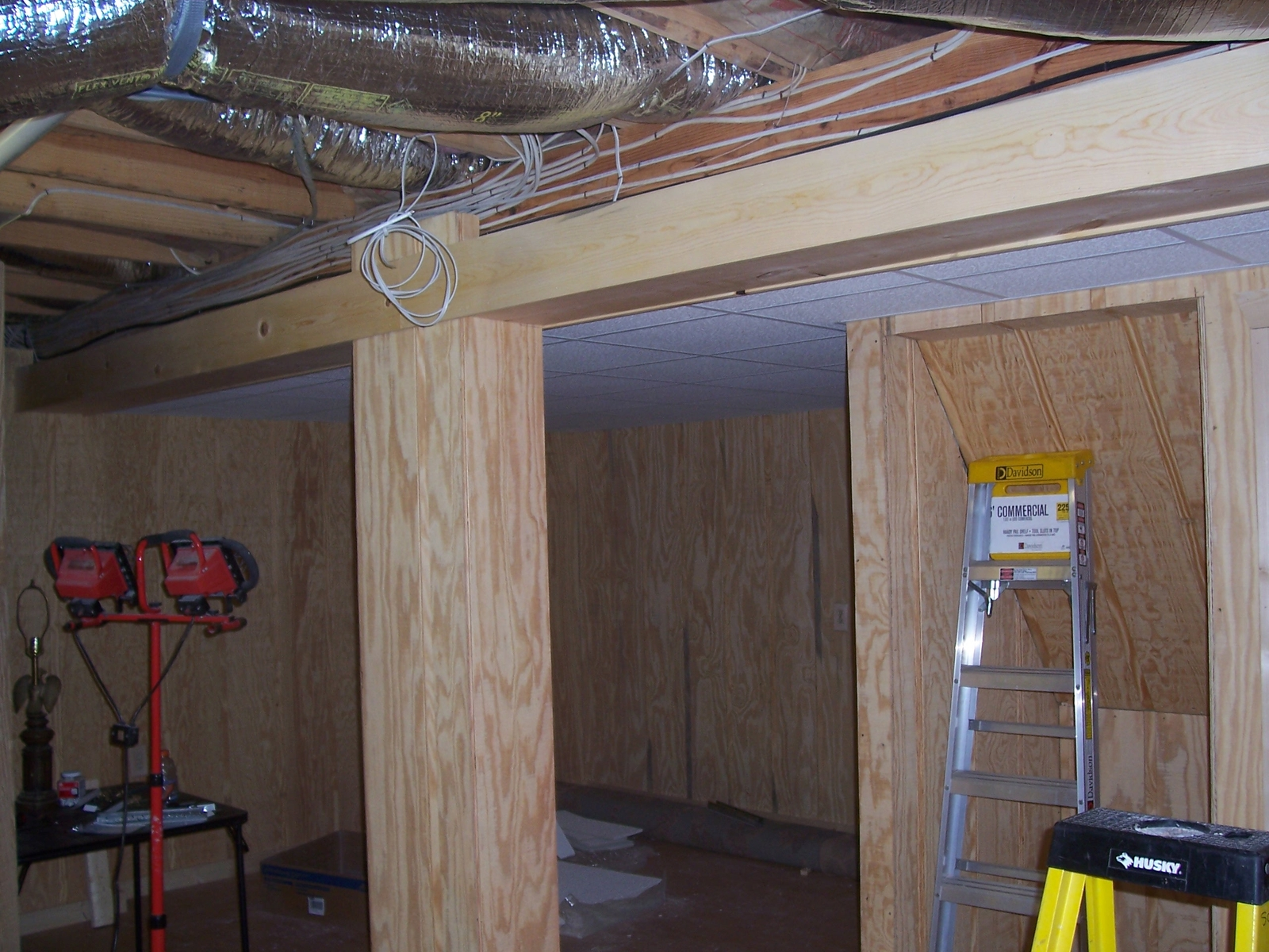 Lake Lure Nc American Building Contractors Inc Wiring Basement Remodel 2
